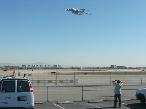 Final C-17 Globemaster #279 Leaving Long Beach, California
