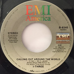 I-THREE:NOW THAT WE'RE STANDING(LABEL SIDE-B)