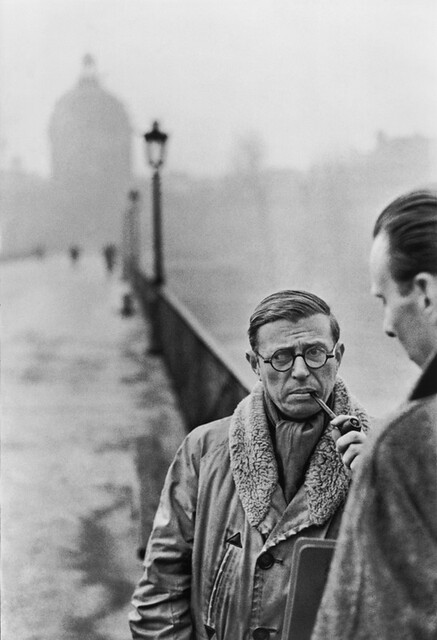 1946 Jean-Paul Sartre, Paris
