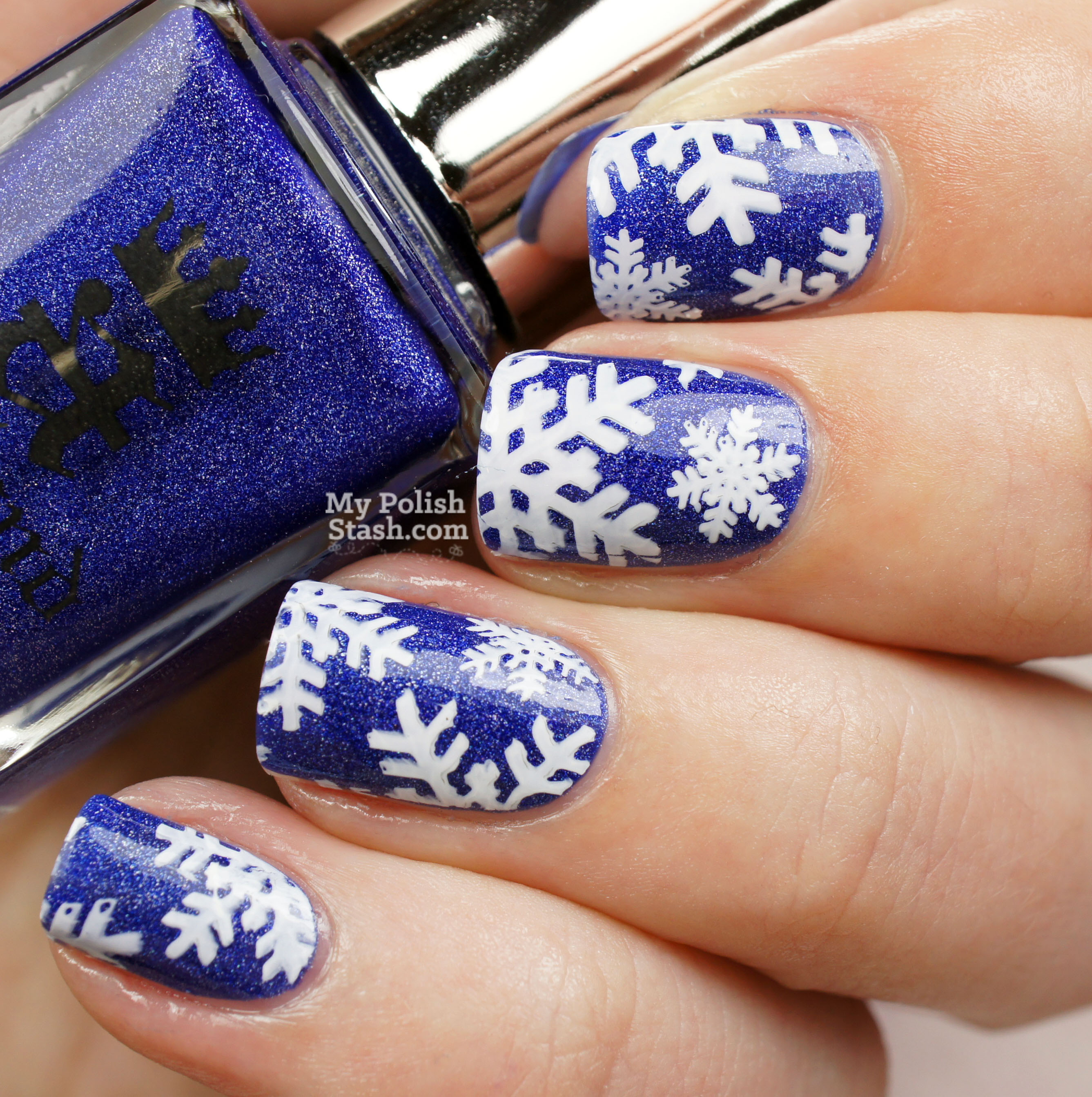 snowflake-nail-art-1