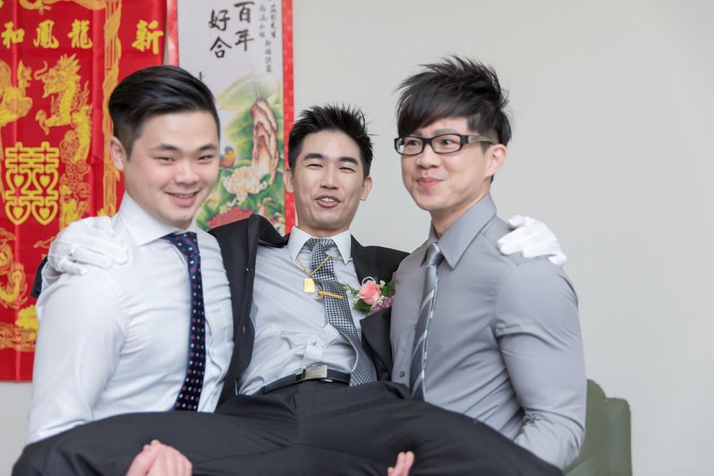 台南婚攝-迎娶午宴 X 情定城堡 (26)