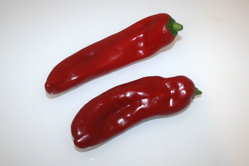 03 - Zutat Spitzpaprika / Ingredient pointed pepper