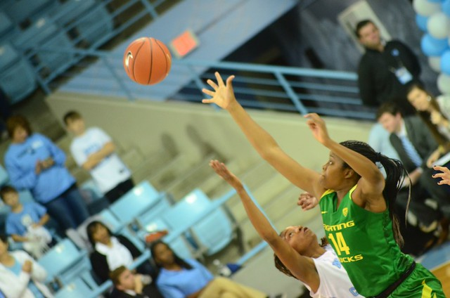 basketball: oregon @ unc