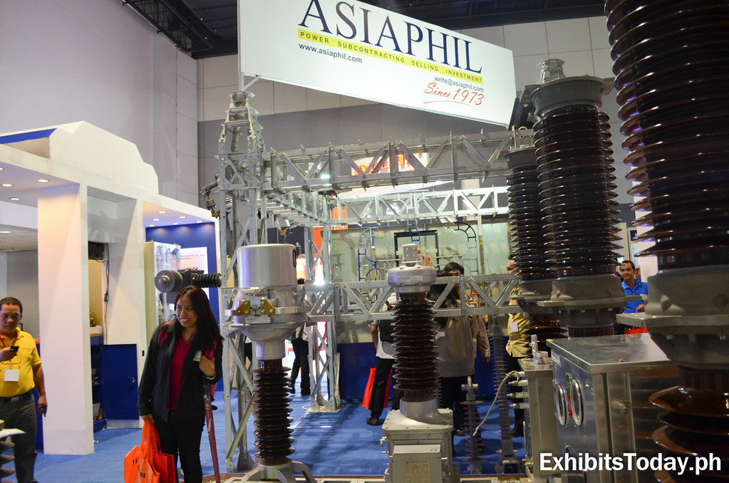 AsiaPhil Exhibit Booth (side)