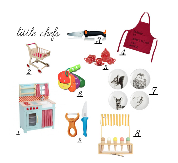 gift guide 2015 - little chefs by Paul & Paula