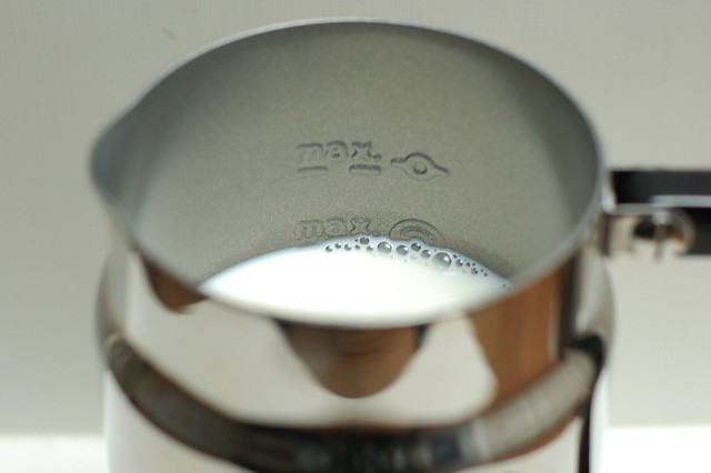 donu0027t go past the max fill line on the nespresso aeroccino milk frother by - Nespresso Frother