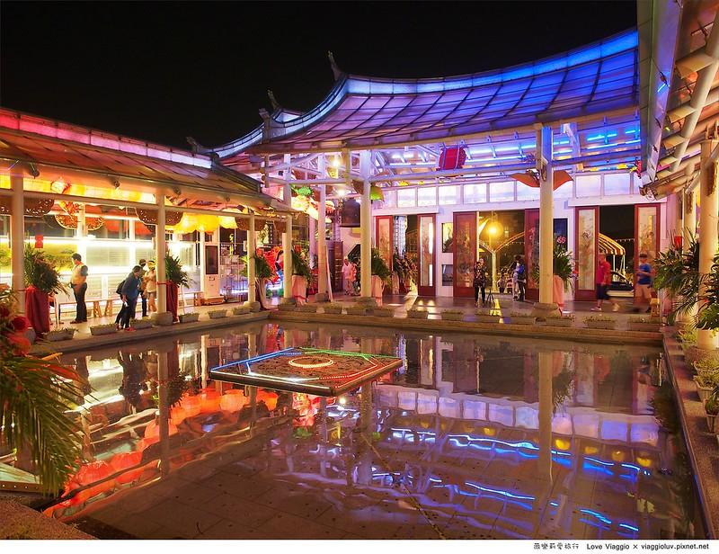 【彰化 Changhwa】鹿港夜晚七彩絢爛的玻璃媽祖廟 台灣玻璃博物館參觀 @薇樂莉 Love Viaggio | 旅行.生活.攝影