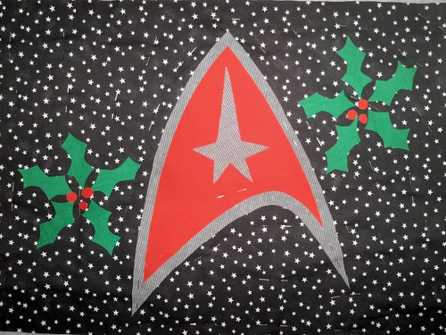 Star Trek Christmas theme.