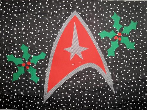 Star Trek Christmas theme.