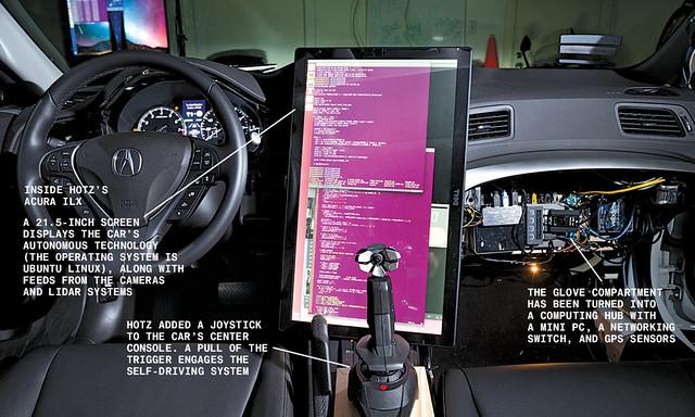 Geohot és az önvezető autó