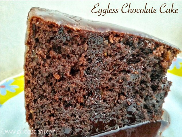 Images Of Eggless Chocolate Cake : Eggless Chocolate Cake Recipe with Dried Figs and ...