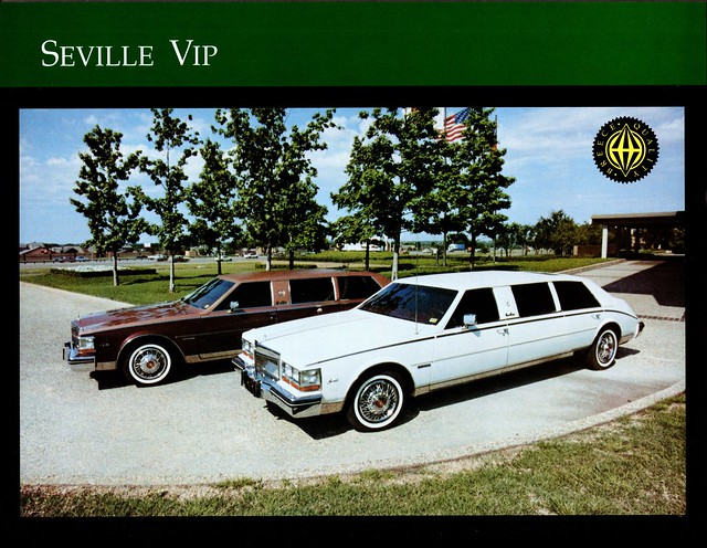 1981 Cadillac Seville VIP Limousines