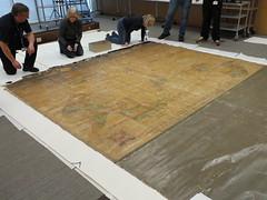 Preservation Week 2016, unrolling large maps
