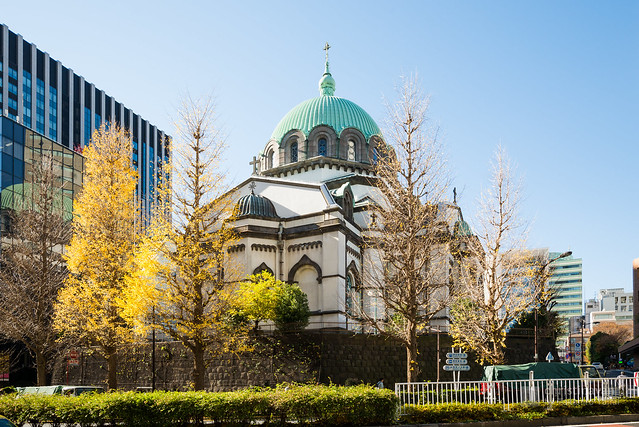 General view of Holy Resurrection Cathedral (ニコライ堂 東京復活大聖堂教会)
