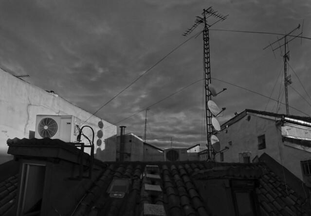 roof of Calle Moratin, Barrio de las letras, Madrid  (2016)
