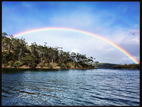 Gentleman's Corner. Barnes Bay - Bruny Island, Tasmania. ROYGBIV.