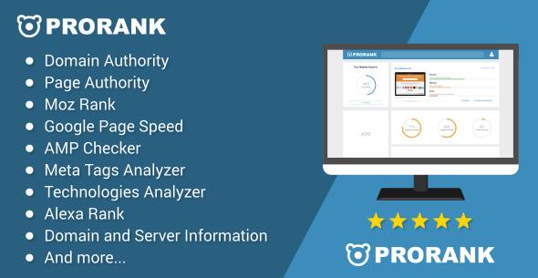 ProRank v1.1.1 - Analyzer stats website