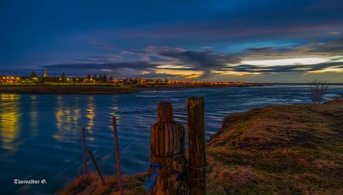 selfoss ölfusá iceland ísland river