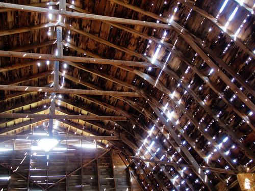 wood barn olympus omd em5