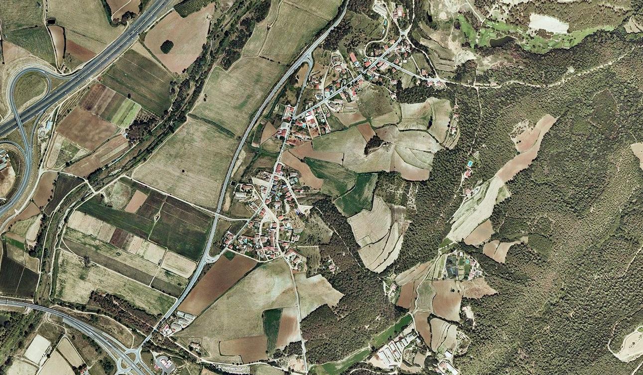 sant agnès de malanyes, barcelona, tres hojitas verdes, antes, urbanismo, planeamiento, urbano, desastre, urbanístico, construcción