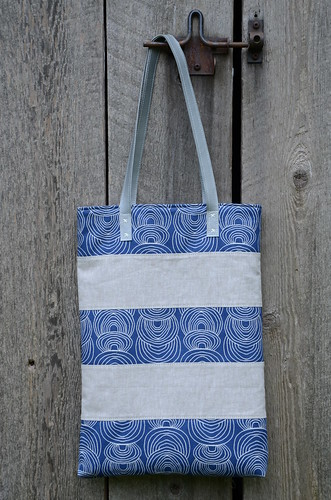 Around Town Tote Bag by Poppyprint