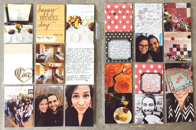 jasmine's pocket scrapbook // project life: may 2015