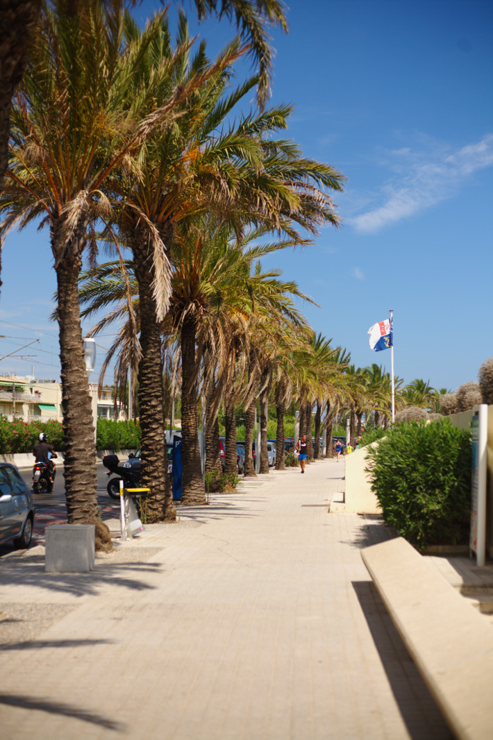 Juan Les Pins boardwalk