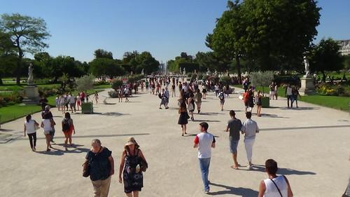 Paris Jardin des Tuileries Aug 15 3
