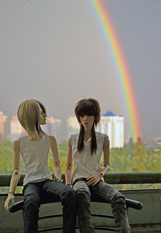 Watchin' rainbow