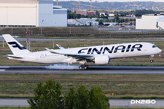 Finnair A350-941 msn 018