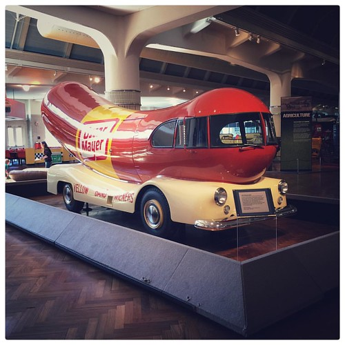 1952 Wienermobile. Kids had a great time @thehenryford today! #thehenryford #Michigan #motorcity #wienermobile #automobile