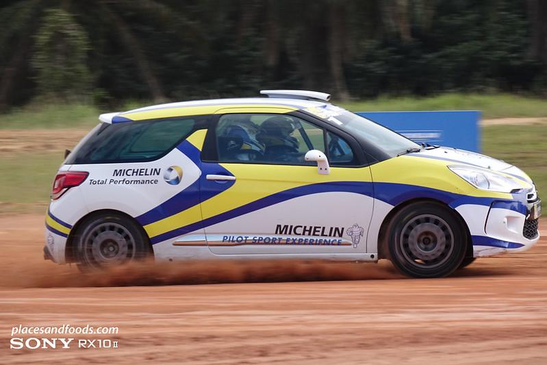 Michelin pilot sport experience rally citroen