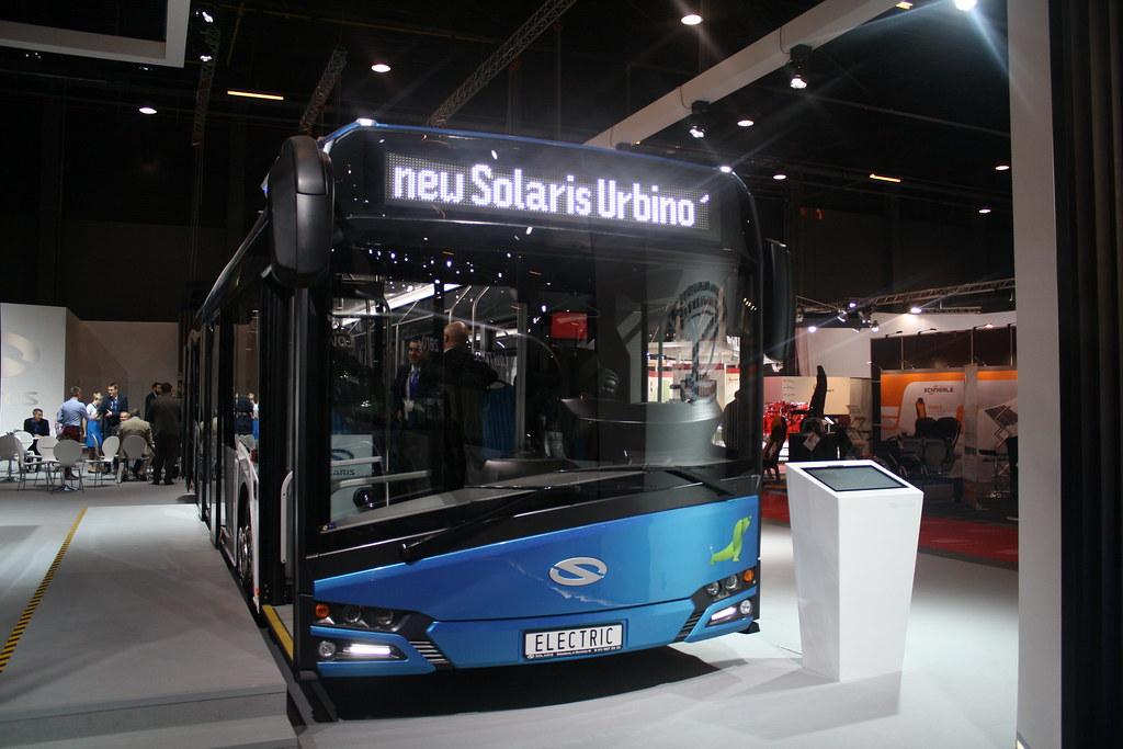 BusWorld 2015 New Solaris Urbino Electrique.