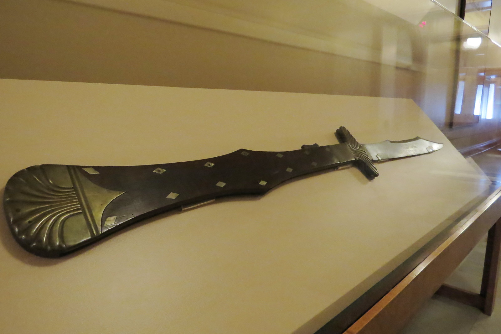 Monster knife of Congressman John Fox Potter, 1860