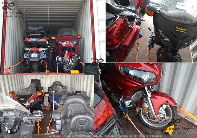 Temporary Motor Bike Shipping from Dubai UAE to Europe