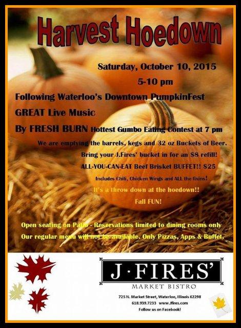 Harvest Hoedown 10-10-15