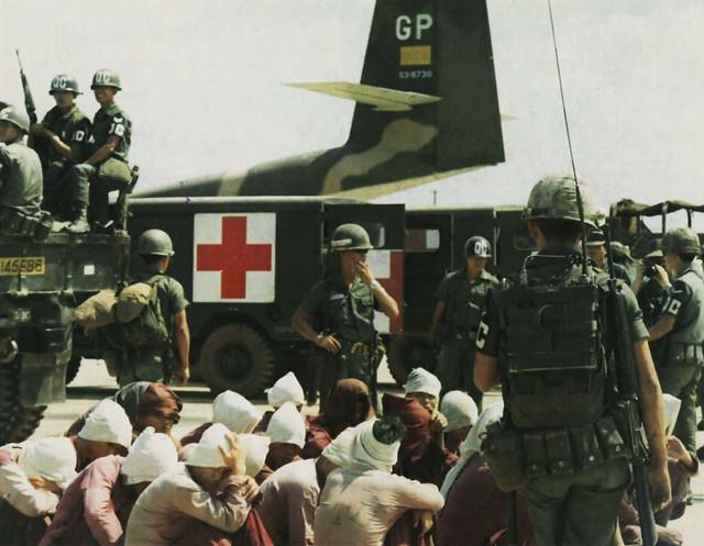 BIEN HOA 1973 - Trao trả tù binh chiến tranh