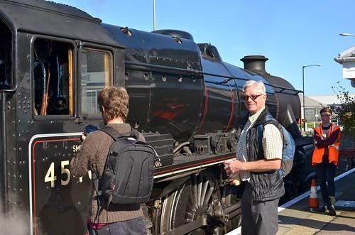 The Jacobite Steam Train (aka the Harry Potter train)