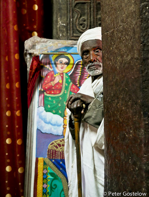Church priest in Lalibela