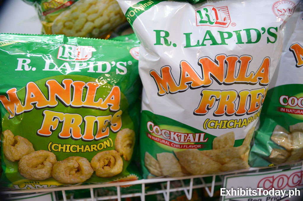 R.L Lapid Manila Fried Chicharon