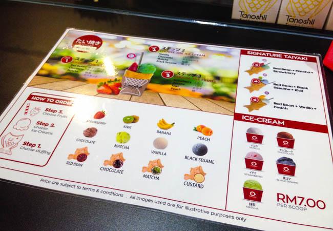 taiyaki-tanoshii-dezato-menu