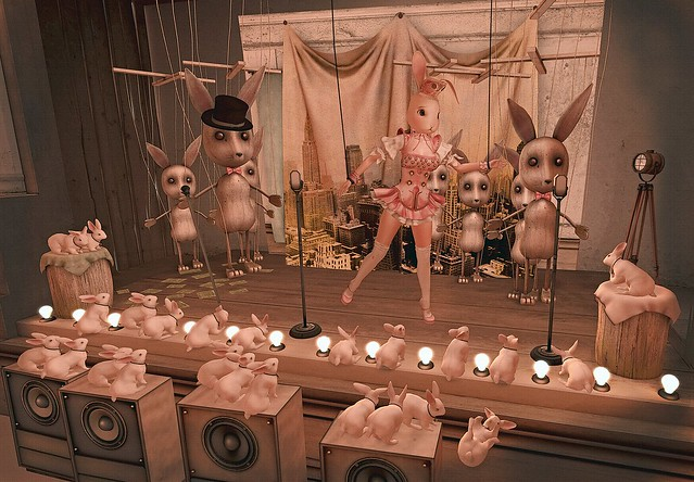 The Maid's Dilemma OR Country Bunnies in New York
