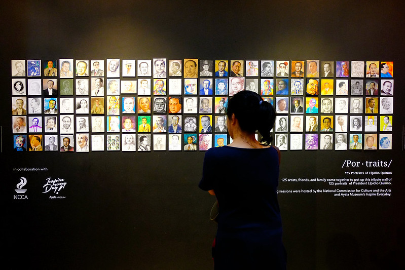 125 Portraits at Defining Quirino at Ayala Museum Philippines Sundae Scoops