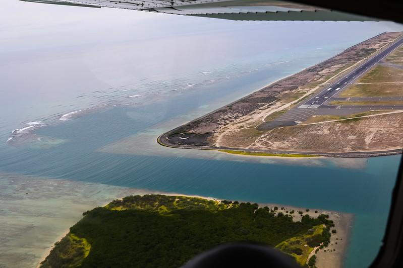 Honolulu Airport RWY 26L & Mokauea Island