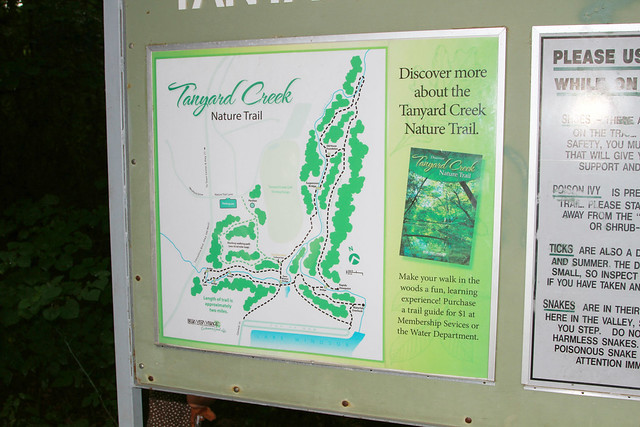 Tanyard Creek Map