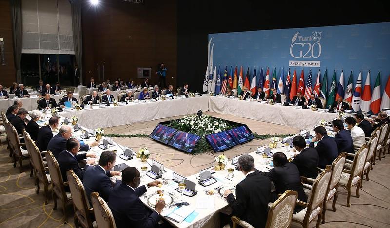 G20 Turkey Leaders Summit - Working Dinner