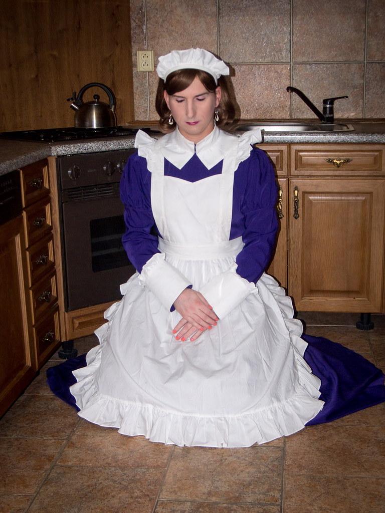 Purple housemaid