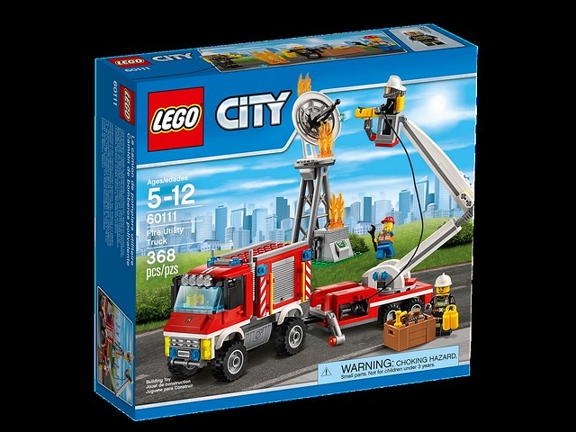 LEGO City 60111 - Fire Utility Truck
