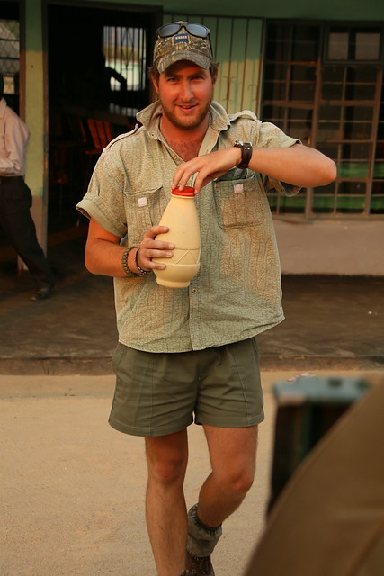 The local brew made from Maize Meal.