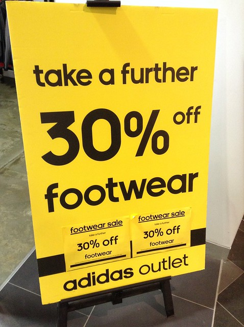 adidas footwear additional 30% off